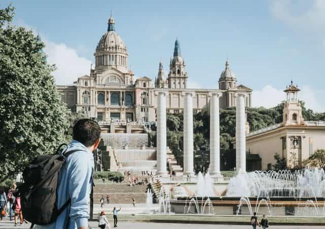 Museu Nacional d'Art de Catalunya, Parc de Montjuïc, Barcelona, Spain