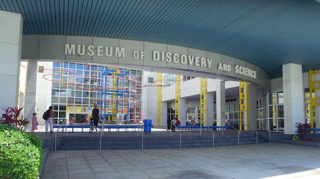 Entrance to the MUseum of Science and Discovery