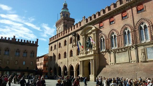 Piazza Grande in Bologna