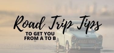 Link Tile: Road Trip Tips to Get Your From A to B
