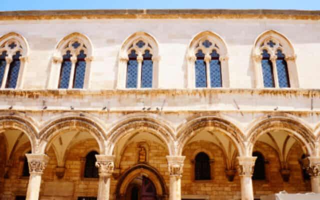Facade of Sponza Palace