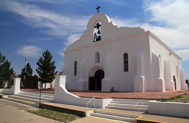 San Elizario Mission El Paso Texas