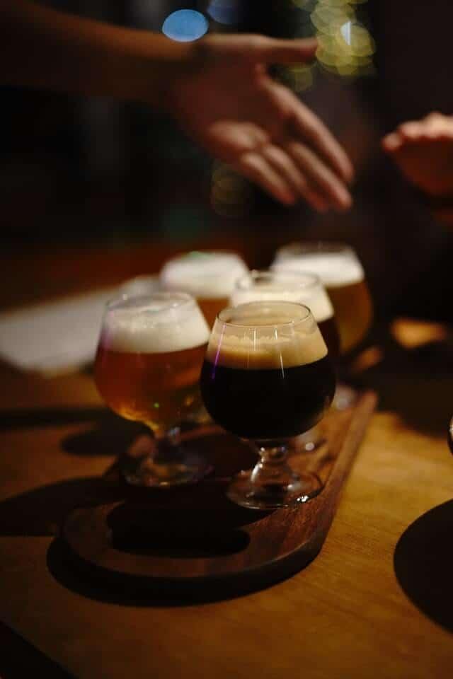 Beer Flight in Grand Rapids MI