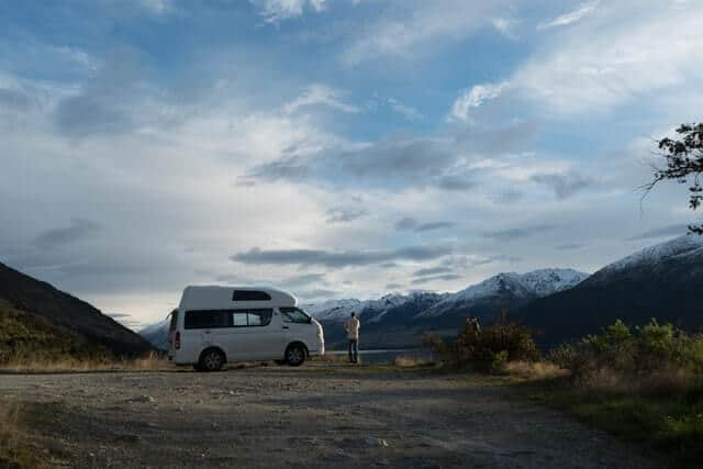 Campervan in New Zeland