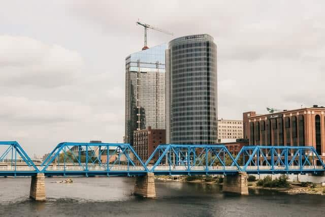Grand Rapids Blue Bridge