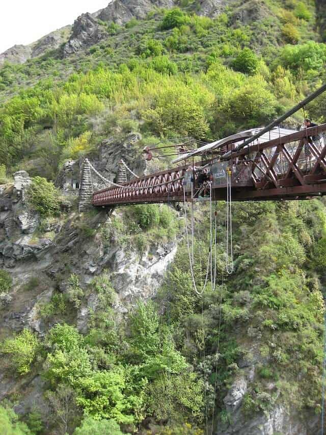 Queenstown Bridge Bungy