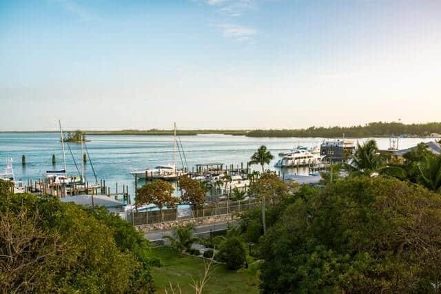 Bimini Port in Bahamas