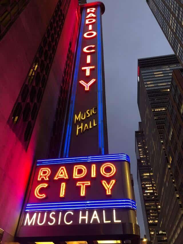 Radio City Music Hall Exterior