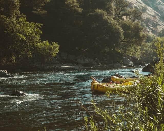 White Water Rafting in Banff