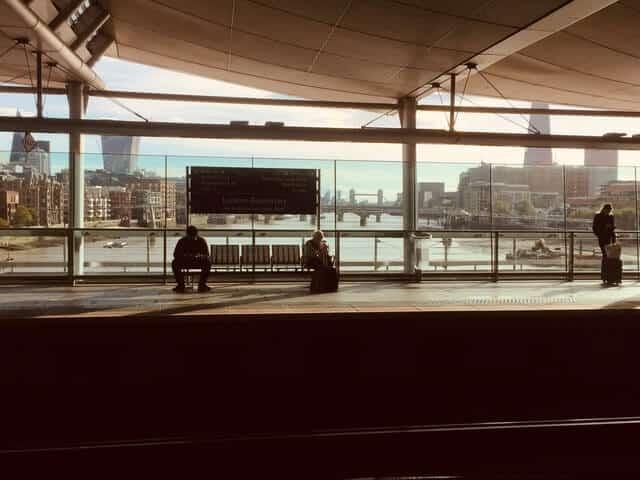 Blackfriars Train Station London