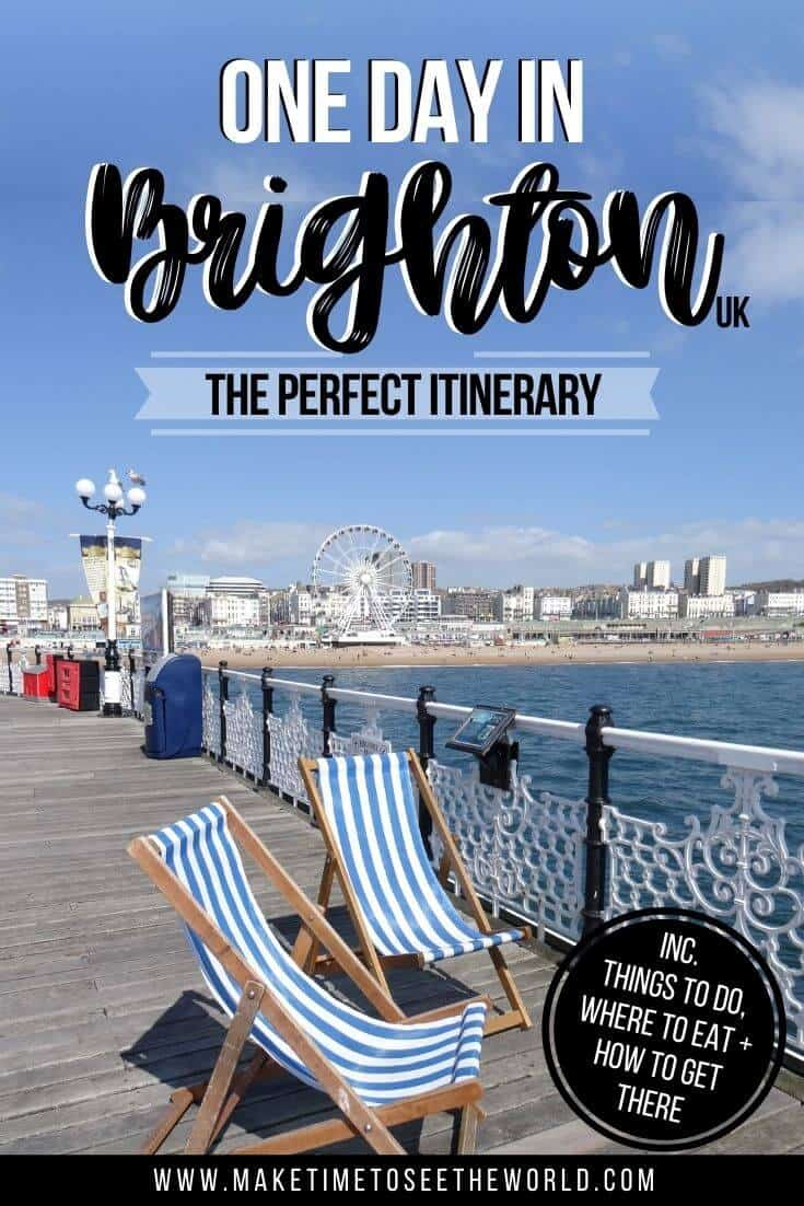 One Day in Brighton Itinerary