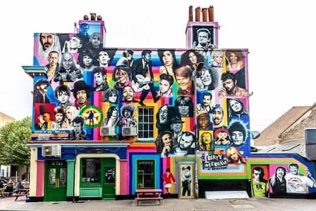 Prince Albert Mural in Brighton