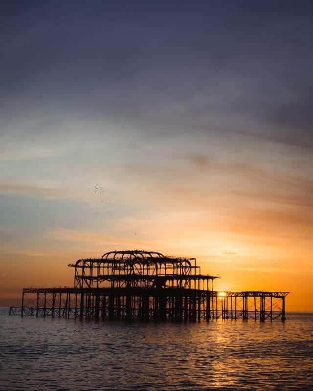 West Pier Ruins, Brighton and Hove