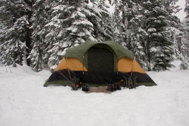 Winter Camping Colorado