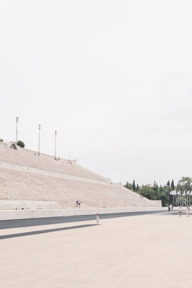 Stands in the Athens Olympic Sports Complex
