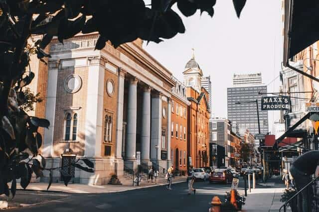 Old Architecture in Philadelphia