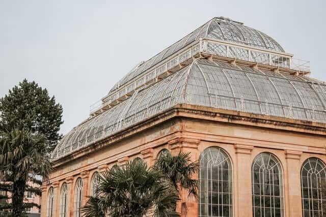 Royal Botanic Gardens Edinburgh, Arboretum Place with domes glass roof