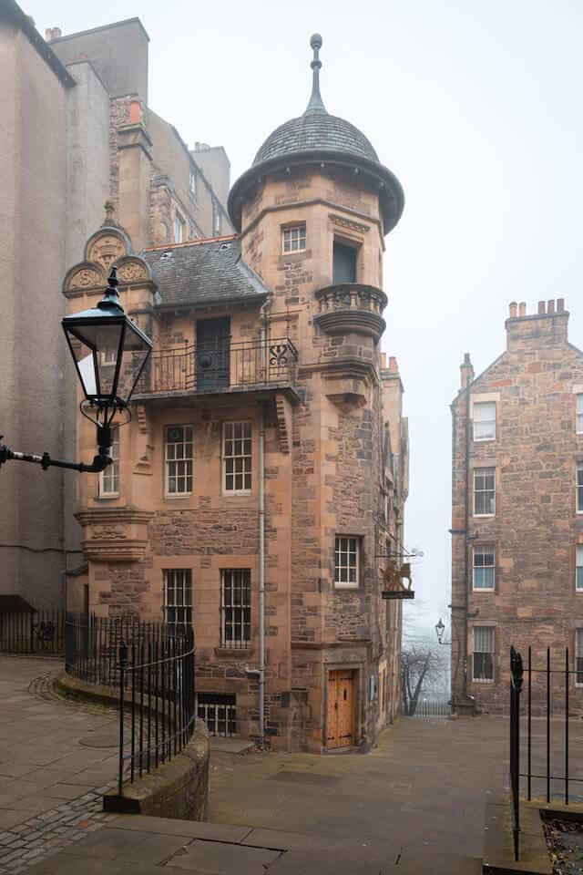 Building of The Writer's Museum Edinburgh