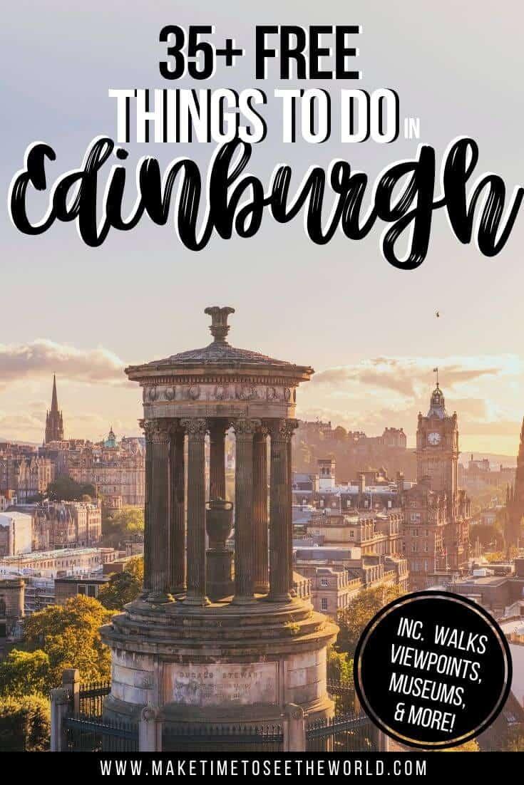Top Free Things to do in Edinburgh Scotland