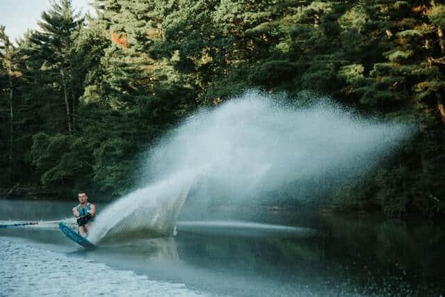 Waterskiing Wisconsin Dells