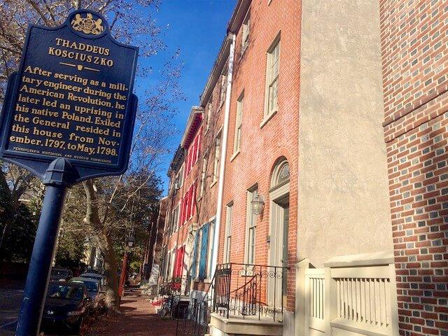 philadelphia historical marker sign