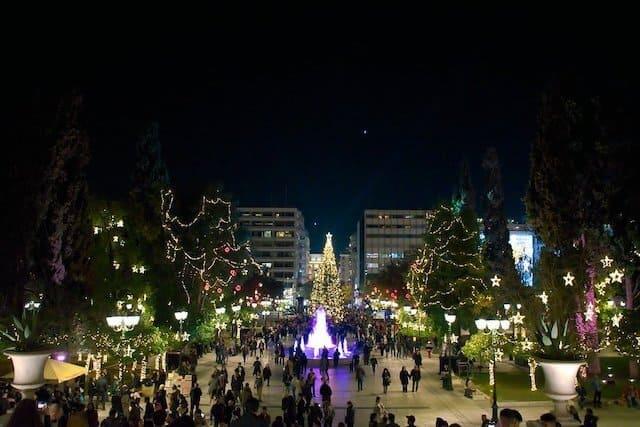 Syntagma Christmas Lights